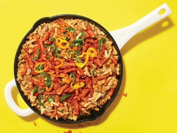 Flamin-Hot-Cheetos-Mac-and-Cheese-Burger-Casserole