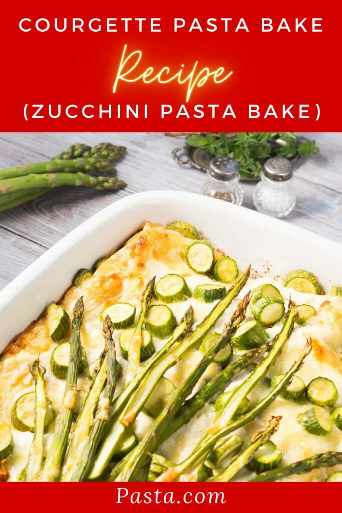 Courgette-Pasta-Bake