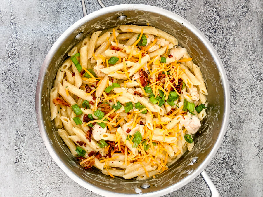 Weight-Watchers-Chicken-Ranch-Pasta